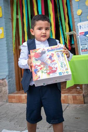 19092021 ¡VIVA MÉXICO.  Mario Santiago Segovia Barrios festeja el 16 de septiembre.
