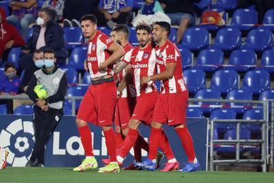 José Juan Macías y Héctor Herrera fueron titulares en victoria del Atlético de Madrid ante Getafe
