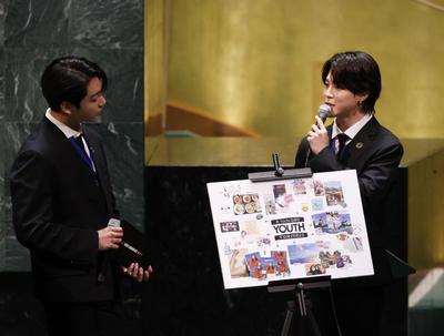 La ONU busca conectarse con la juventud de la mano de BTS