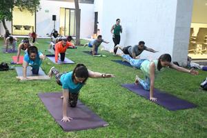 25092021 Cecilia Salas tiene 15 años siendo maestra de yoga.