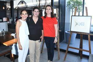 27092021 Pecky Wepp, Marcela Garza y Blanca Flores.