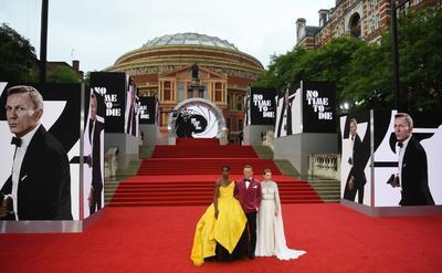 Alfombra roja de la premier de James Bond en Londres