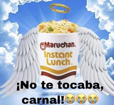 Mexicanos 'protestan' con memes por 'prohibición' de las sopas instantáneos