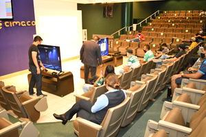06102021 Las acciones de los juegos fueron en el Auditorio Elías Murra Marcos.