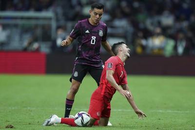 Selecciones de México y Canadá empatan en partido de clasificación al Mundial de Qatar 2022
