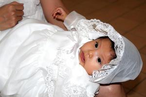 08102021 Jimena Gómez Mexica fue bautizada el 25 de septiembre en la iglesia de San Judas Tadeo.