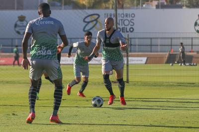 Continúa Santos Laguna su preparación en paro de Liga MX por Fecha FIFA