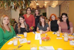 09102021 Guadalupe Vargas, Fernanda Betancort, Tania de León, Gerogina Escareño, Sandra Herrera, Liliana Molina y Angélica Valenzuela.