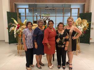 09102021 Nelda Domínguez, Mirna Domínguez, Cecilia Mata, Cecilia Fierro, Tania de León, Angelica España, Liliana García, María Elena García.