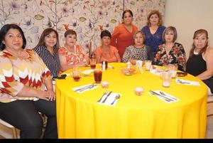 09102021 Norma Sifuentes, Esther Arce, Tania de León, Adanely Vega, Guadalupe de León y Janet Frera.