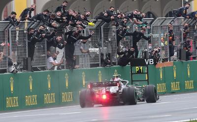 Valtteri Bottas se lleva el Gran Premio de Turquía; 'Checo' Pérez concluye tercero