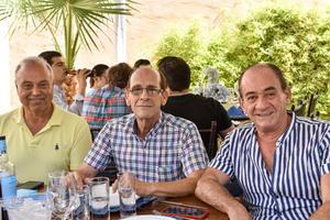 18102021 Javier Saade, Javier Gidi y Óscar Conte.