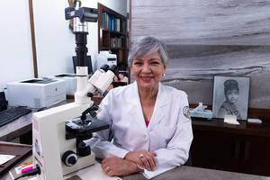 16102021 Doctora Yolanda Jaramillo, presidenta la Asociación 'Mujeres Salvando Mujeres'.