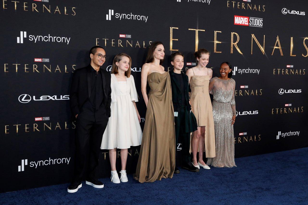 Celebran premiere de Eternals en Los Angeles