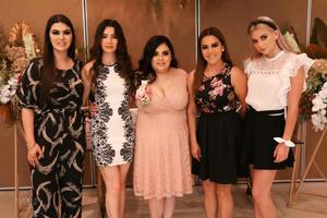 23102021 Cris Padilla, Vivian Padilla, Carla Uribe, Angélica Uribe y Fer Padilla.