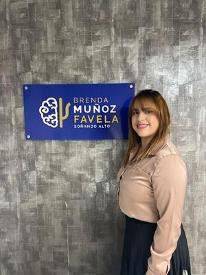 24102021 INAUGURA SU CONSULTORIO.  Psicóloga Brenda Muñoz.