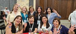 24102021 EN LA CONVENCIóN NACIONAL DE CONTADORES EN MéRIDA, YUCATáN.  Graciela, Gloria, Lety, Elsa, Yoly, Lorena, Lore y Ale.