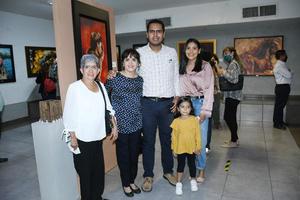 23102021 Marielena Ochoa de Godoy con familia Cervantes Ochoa.