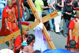 Recuerdan la Pasión y Muerte de Jesucristo
