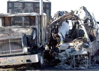 Mueren 24 en accidente de autobús en Chihuahua