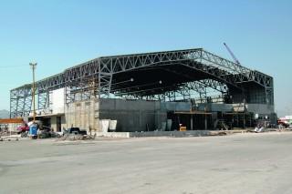 Gran avance del Gimnasio Centenario