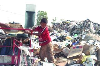 Inadecuado, manejo de desechos sólidos