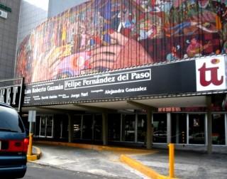 Finalizan restauración del mural La Historia del Teatro de Diego Rivera