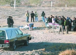 Ejecutados. <b>Aparecen dos cuerpos en el vado del Río Nazas</b>