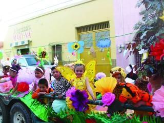 Los jardines de niños anuncian la primavera