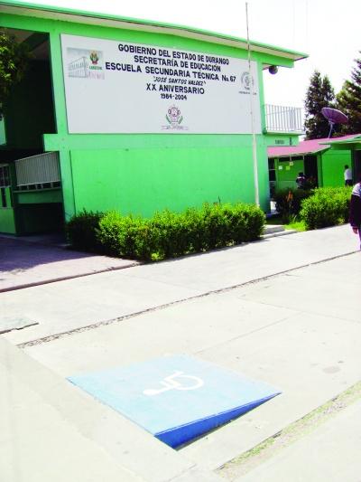215 rampas construidas en escuelas