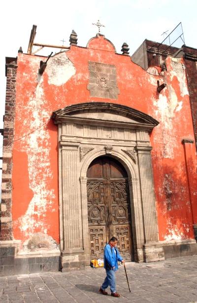 En riesgo templos del Centro Histórico del DF