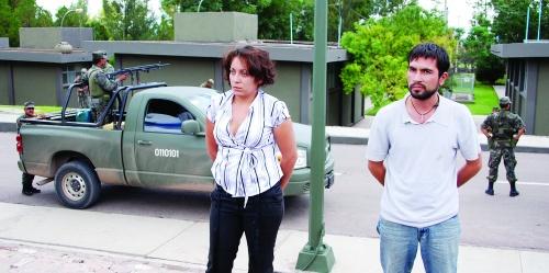 Asegura Ejército nal en Santiago Papasquiaro, Dgo