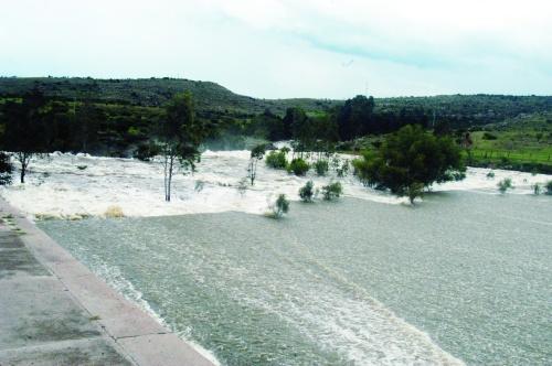 Al 89% de capacidad, la presa El Palmito