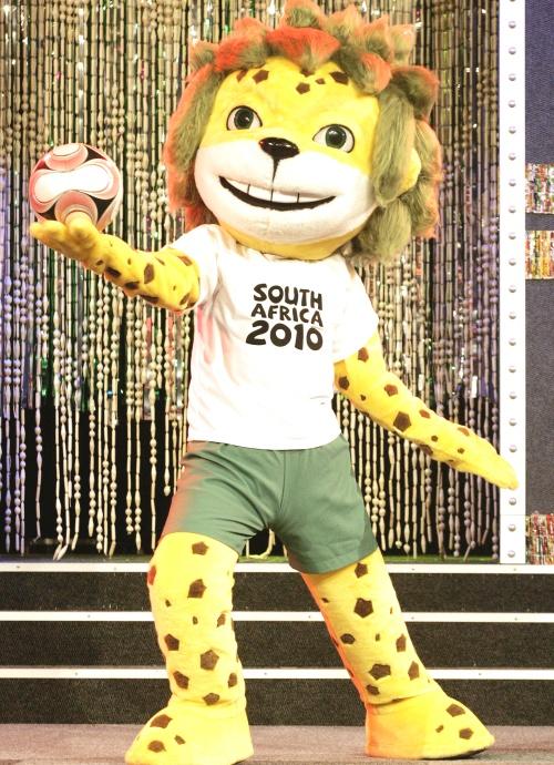 Presentan a la mascota para Mundial Sudáfrica 2010
