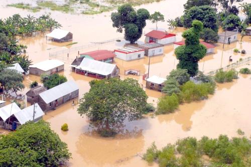 Graves daños en Veracruz por lluvias