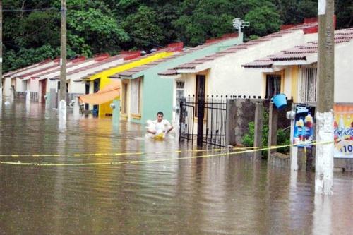 "Causa graves daños tormenta ""Marco"" en Veracruz"