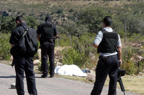 Carretera a La Flor; tiradero de muertos