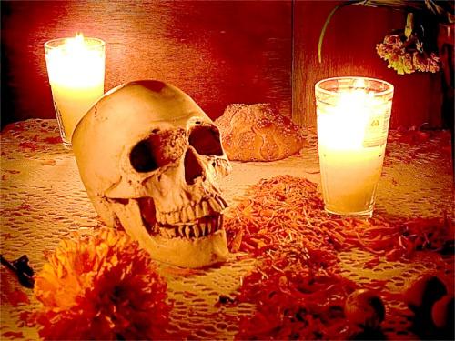 La fiesta prehispánica del Día de Muertos