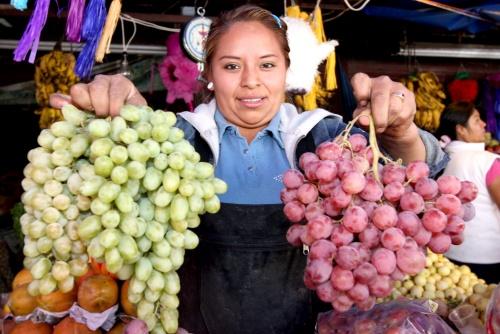 Disminuye en fin de año la producción de uvas