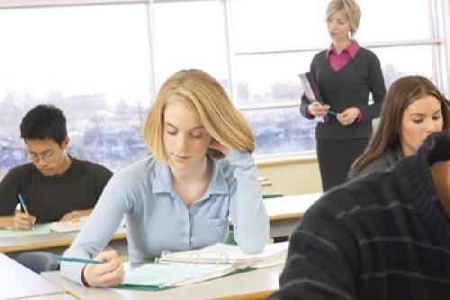 Combate estrés de exámenes con meditación