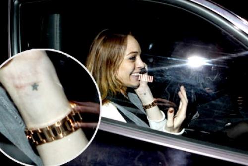 Lindsay imita imagen de Madonna en sesión