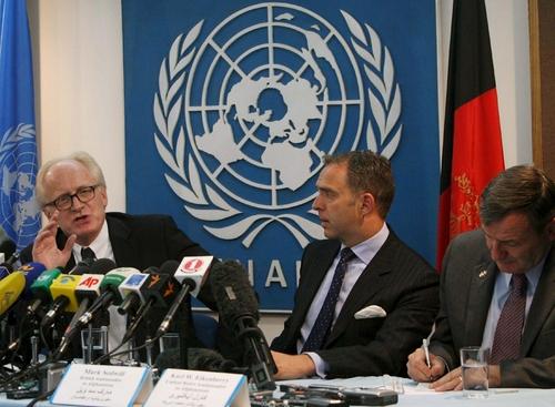 Elecciones de Afganistán con amplio fraude: ONU