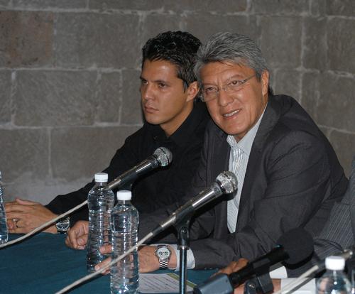 """""""Chucho"""", con Alacranes; DT es Pablo Luna"""