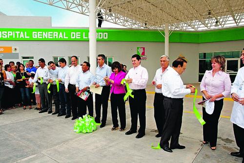Por fin Inauguran Hospital General en Lerdo