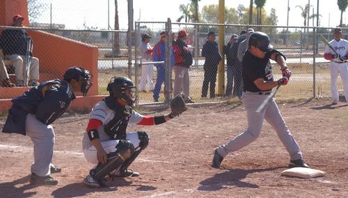 Varias palizas registr la liga de beisbol juan navarrete for Muebles hermanos mora