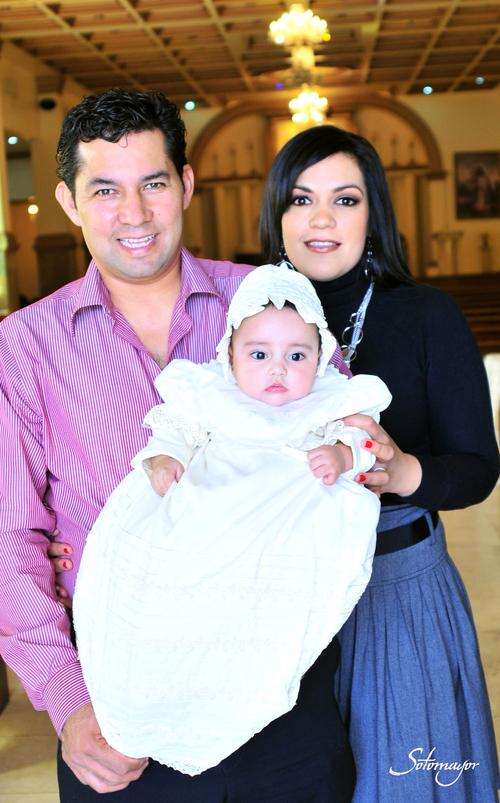 Aranza es bautizada