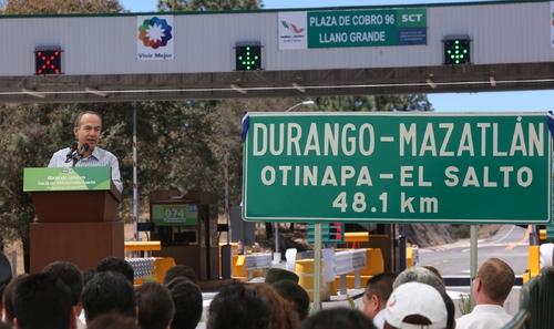 Avance Mazatlan Durango Autopista Durango-mazatlán