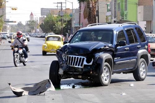 Disminuye número de accidentes en enero