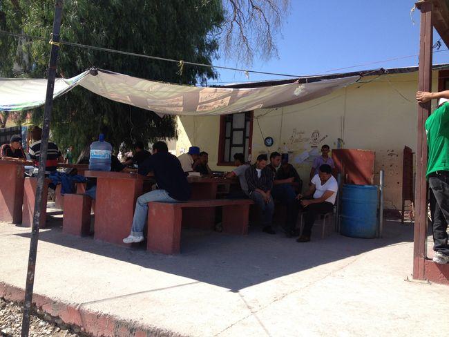 Carece de apoyos la casa del migrante for Mural de la casa del migrante