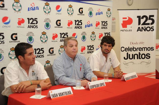 Anunciaron Copa Santos-Peñoles